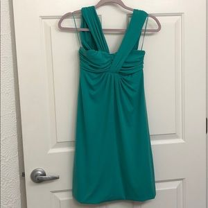Teal/turquoise formal dress